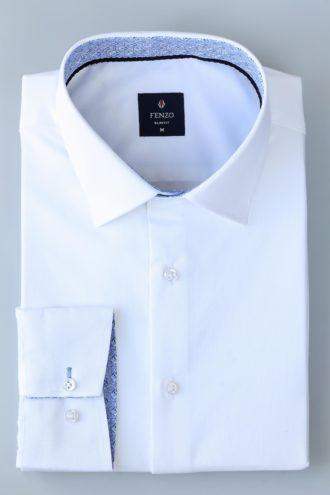 Рубашка с классическим воротником 1-103-2-1135