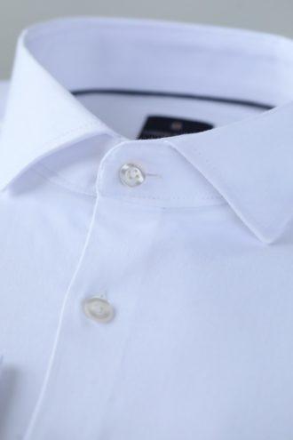 Белая мужская рубашка Slim-Fit 1-204-1-5002