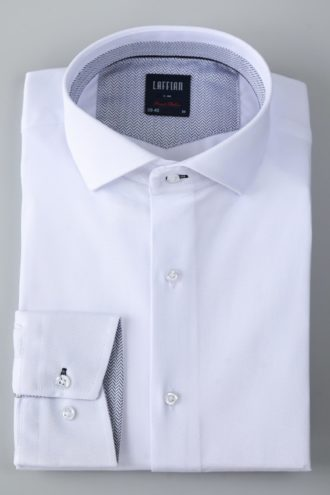 Рубашка в стиле business белая 1-101-1-1113