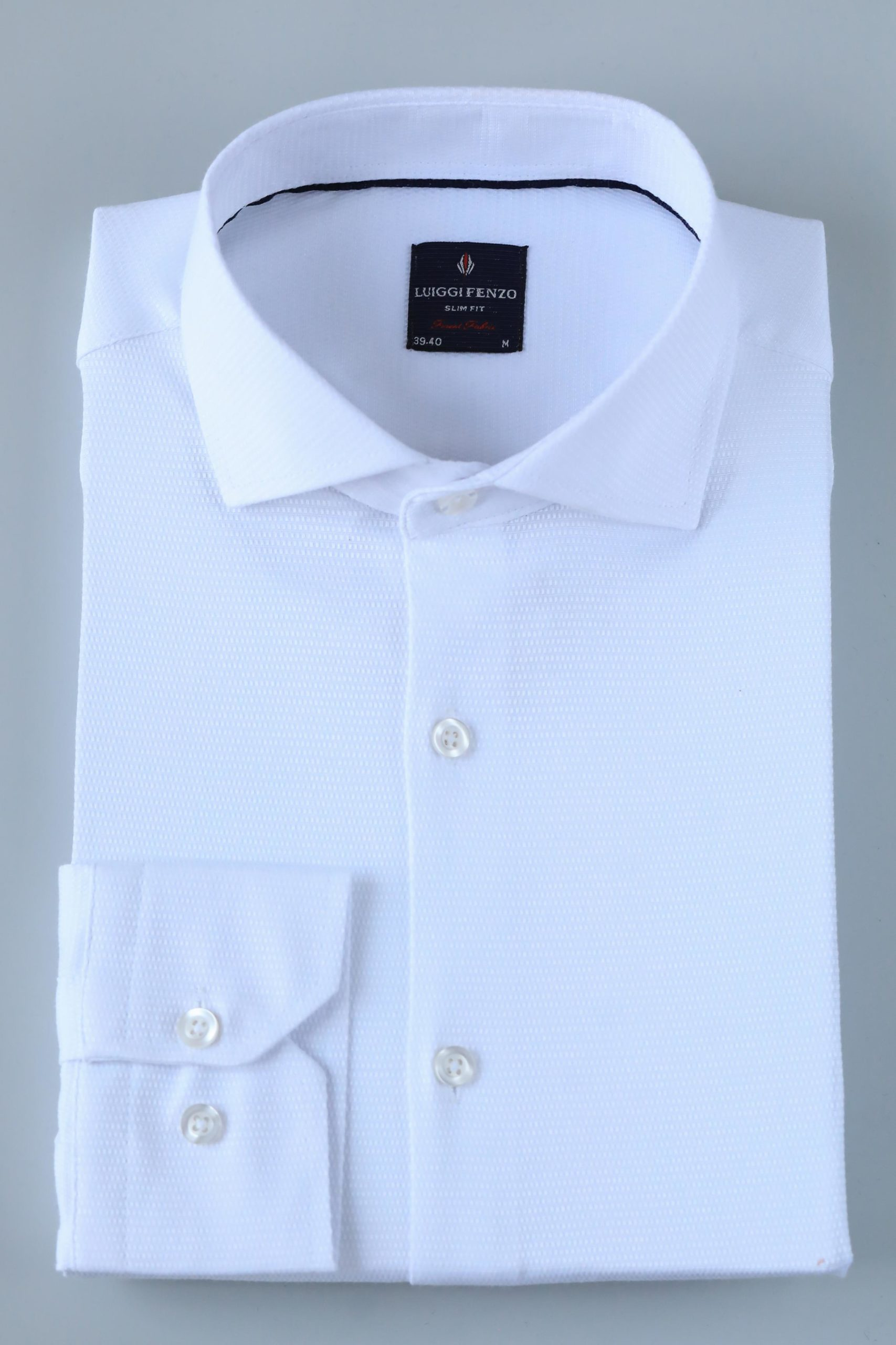 Белая мужская сорочка Кент 1-208-1-5007