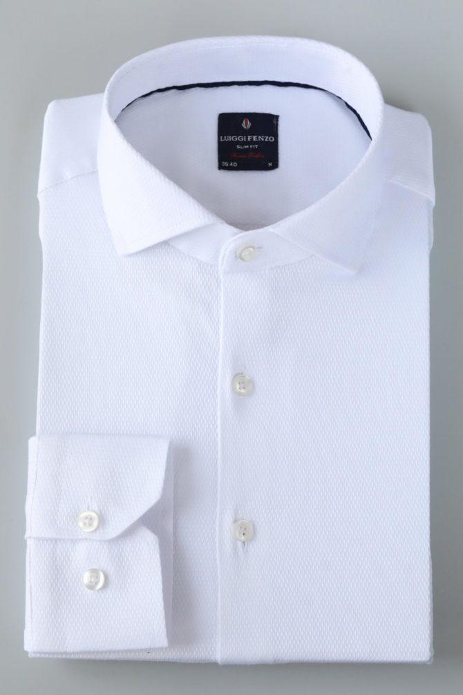 Белая мужская сорочка Кент 1-208-1-5004
