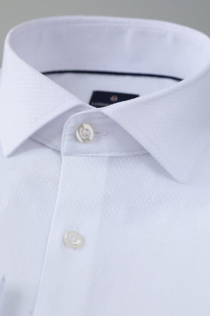 Белая мужская сорочка Кент 1-208-1-5006