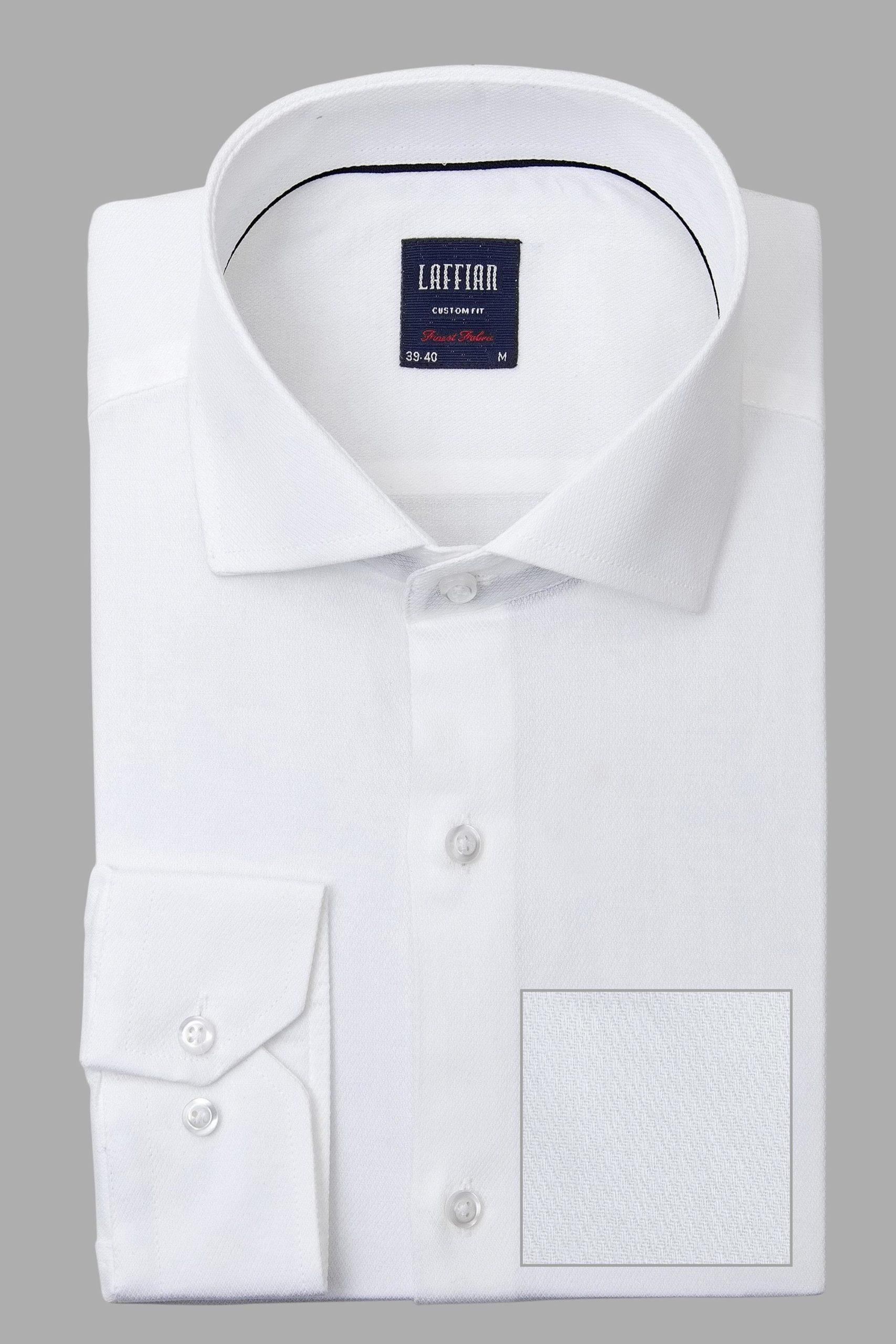 Хлопковая рубашка айвори 2-101-1-1002
