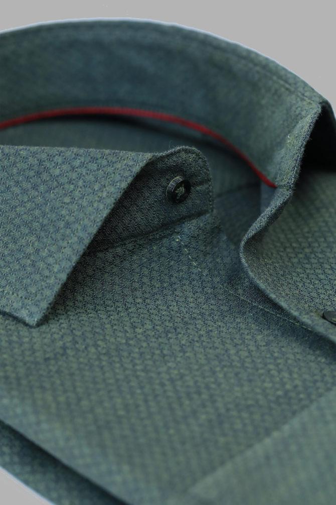 Мужская рубашка из 100% хлопка 1-107-1-2018