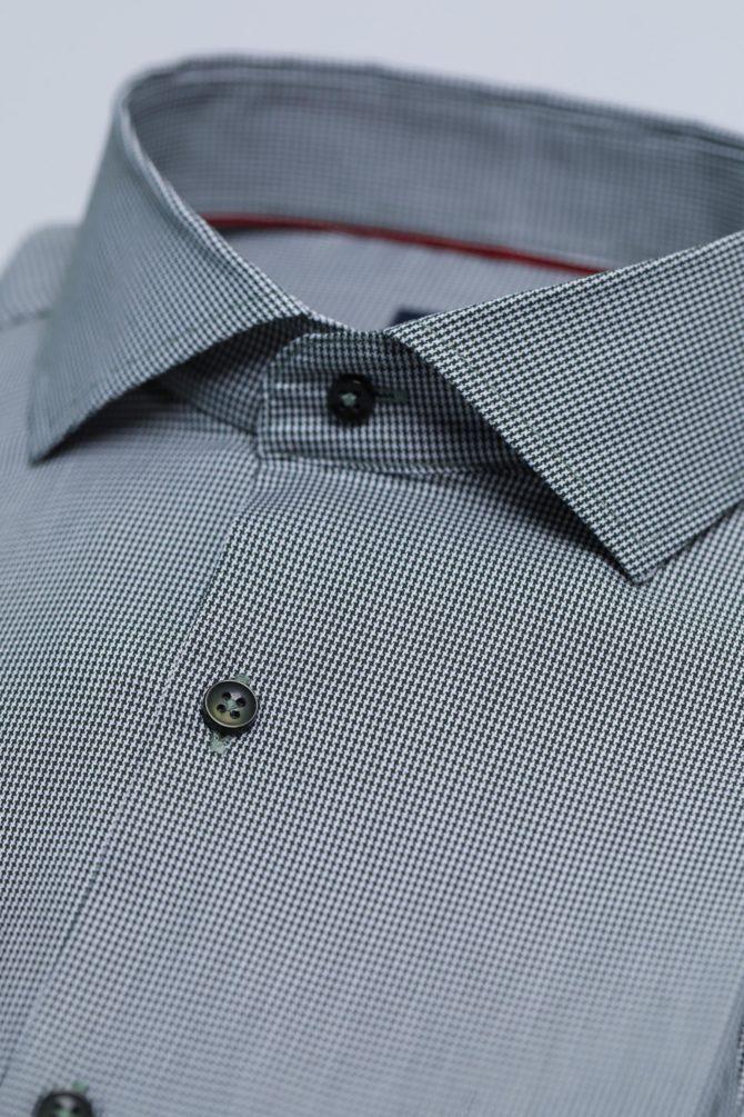 Мужская рубашка из 100% хлопка 1-107-1-2019