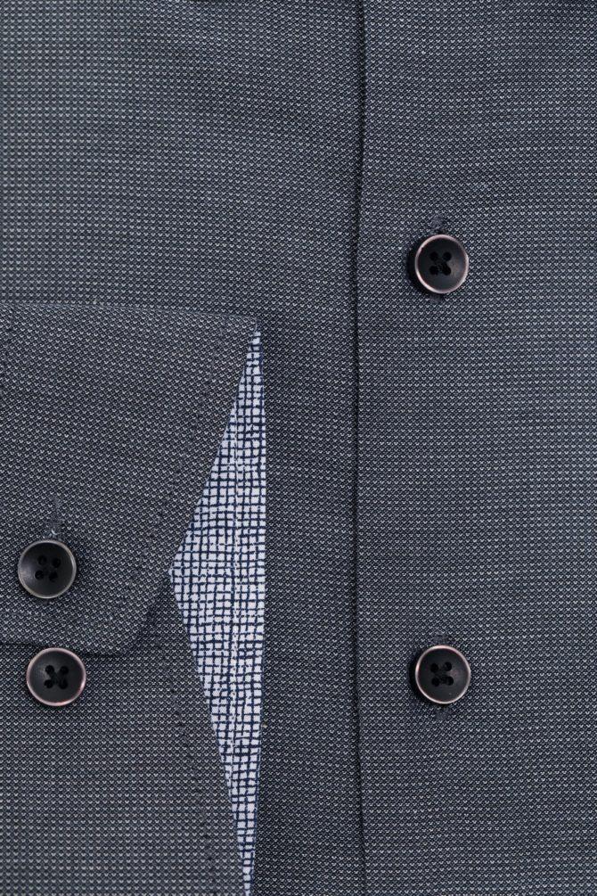 Приталенная рубашка из хлопка 1-107-4-1168
