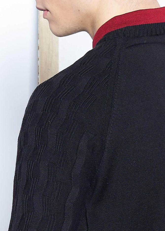 Джемпер мужской из хлопка и акрила ADZE 2-92232