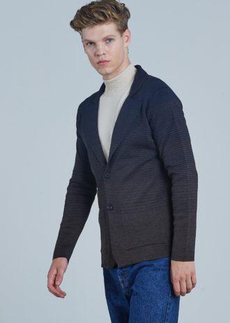 Стильный кардиган мужской акрил и шерсть ADZE 5-9261100