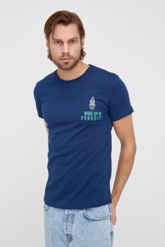 Повседневная футболка из хлопка 2-311100