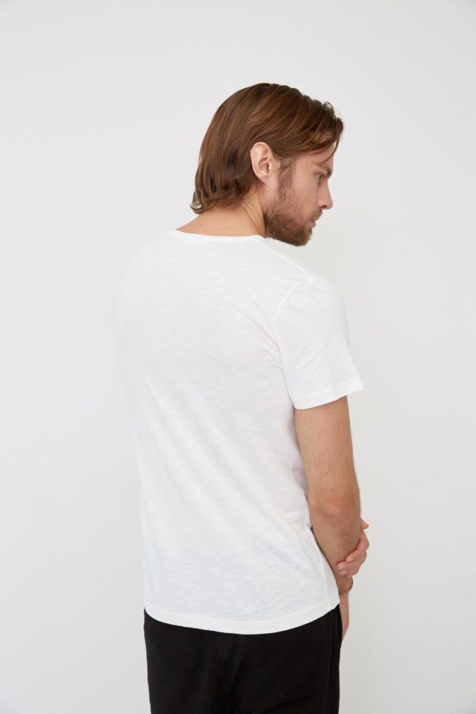 Повседневная футболка из хлопка 17-311100