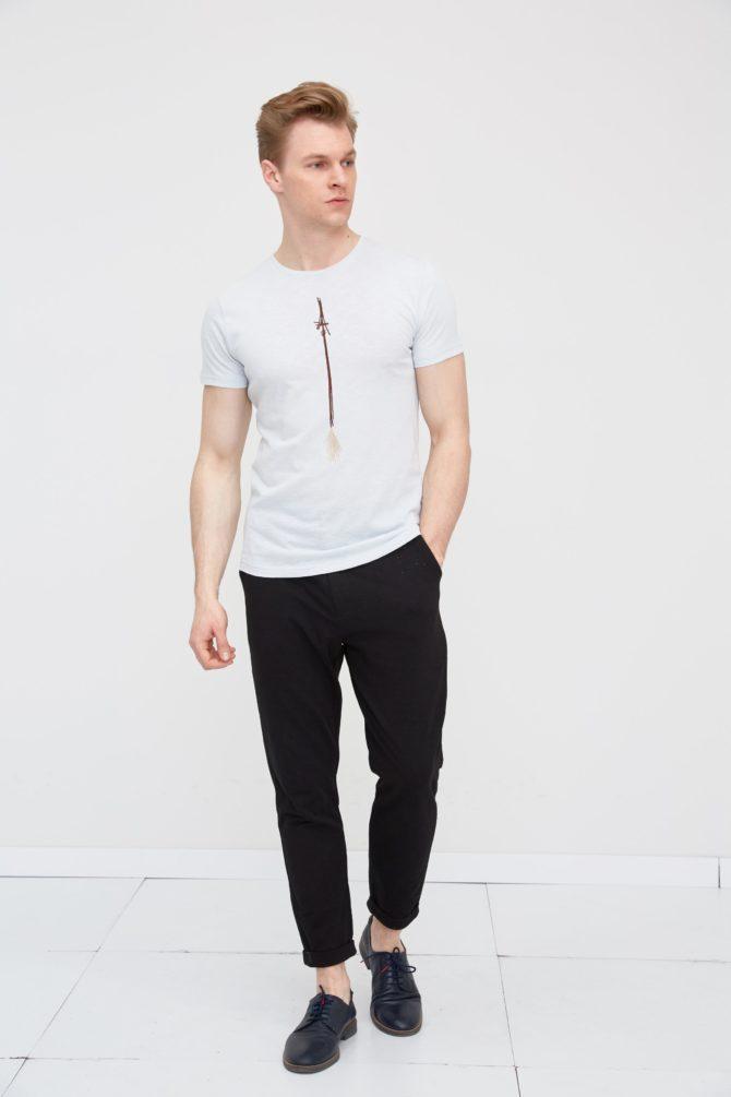 Мужская футболка из 100% хлопка 18-311500