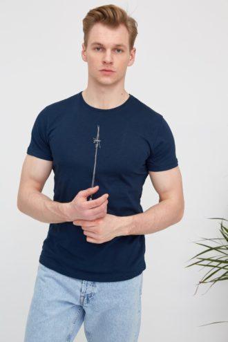 Мужская футболка из 100% хлопка 2-311500
