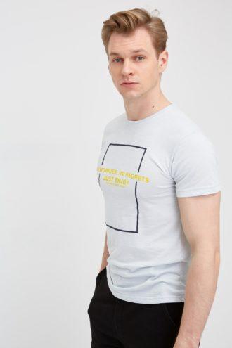 Мужская хлопковая футболка 17-311700