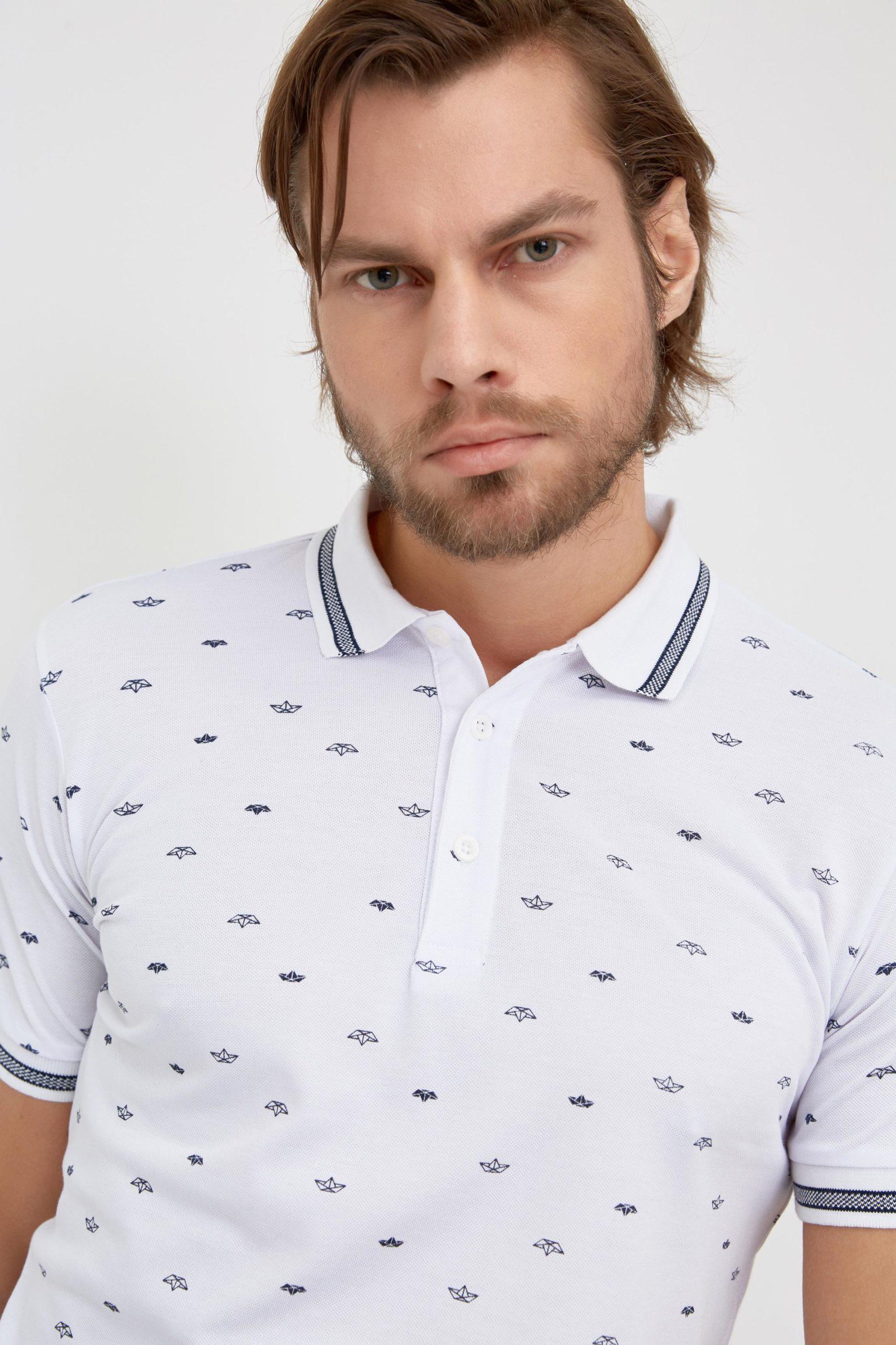 Мужская футболка поло 17-352300