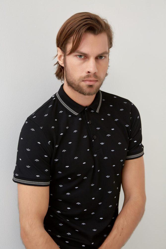 Мужская футболка поло 1-352300