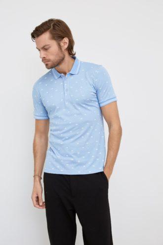 Мужская футболка поло 19-352300