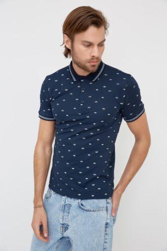 Мужская футболка поло 2-352300