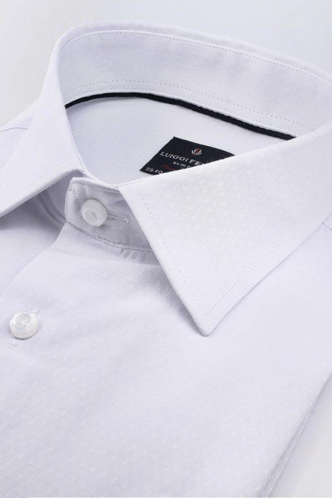 Хлопковая классическая мужская сорочка 1-201-2-2007