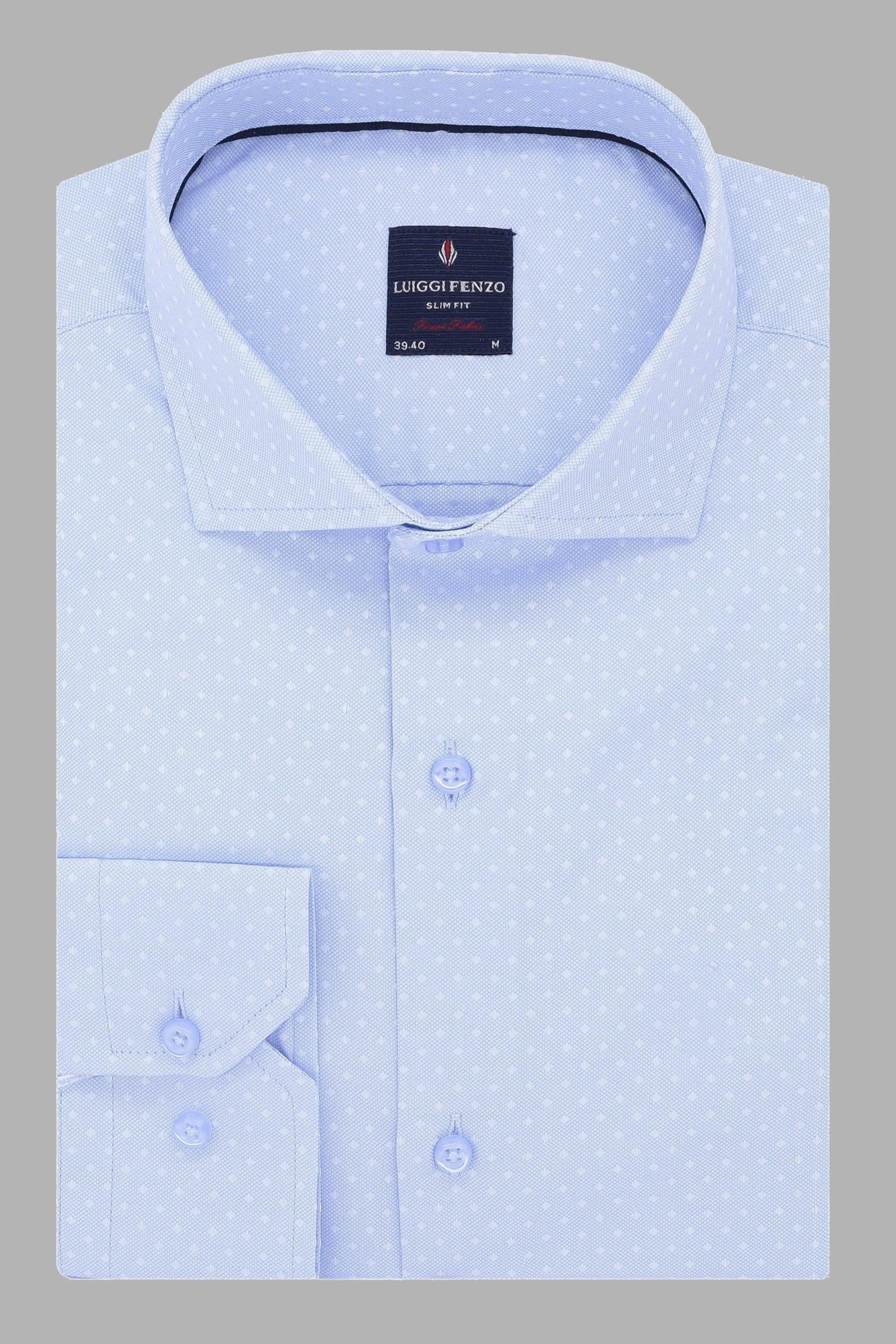 Мужская сорочка бизнес стиля 1-201-1-2002
