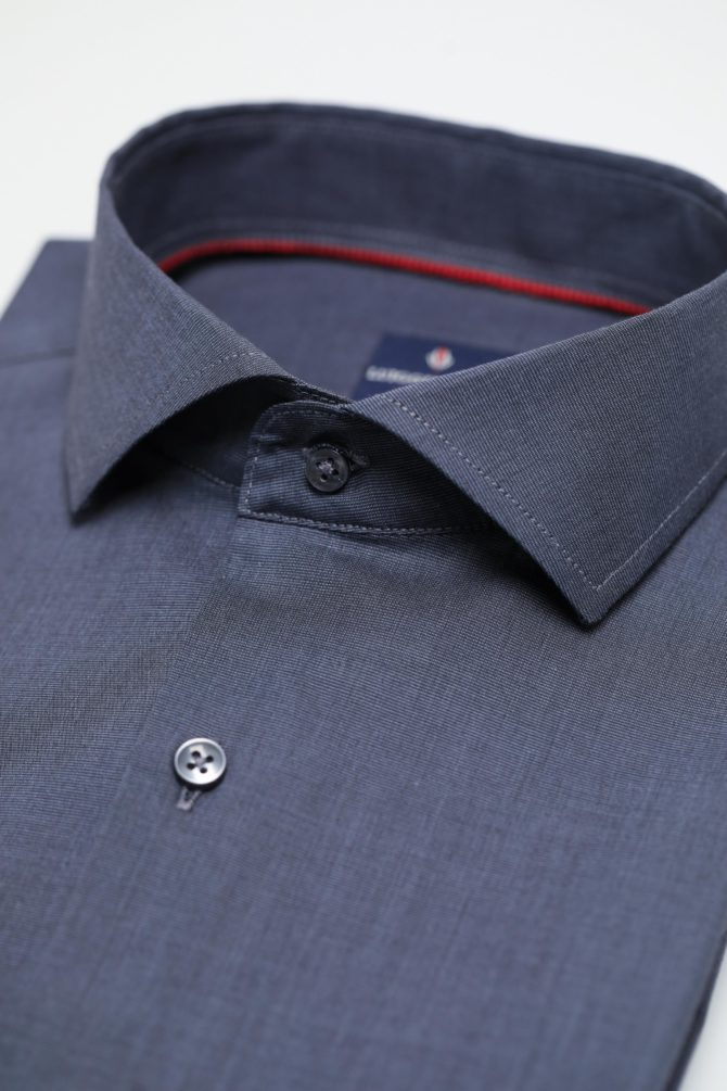 Мужская рубашка из 100% хлопка 1-107-1-2021