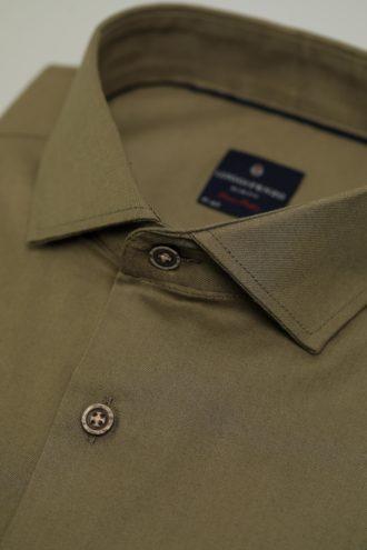 Мужская сорочка с воротником Кент 1-106-7-2015