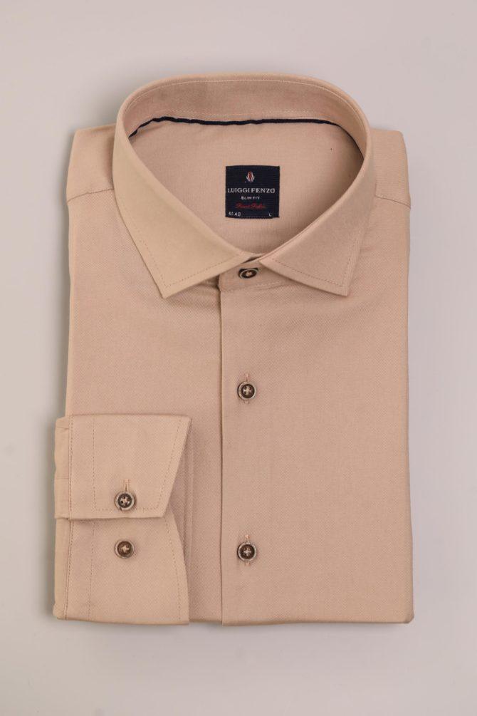 Мужская сорочка с воротником Кент 1-106-7-2013