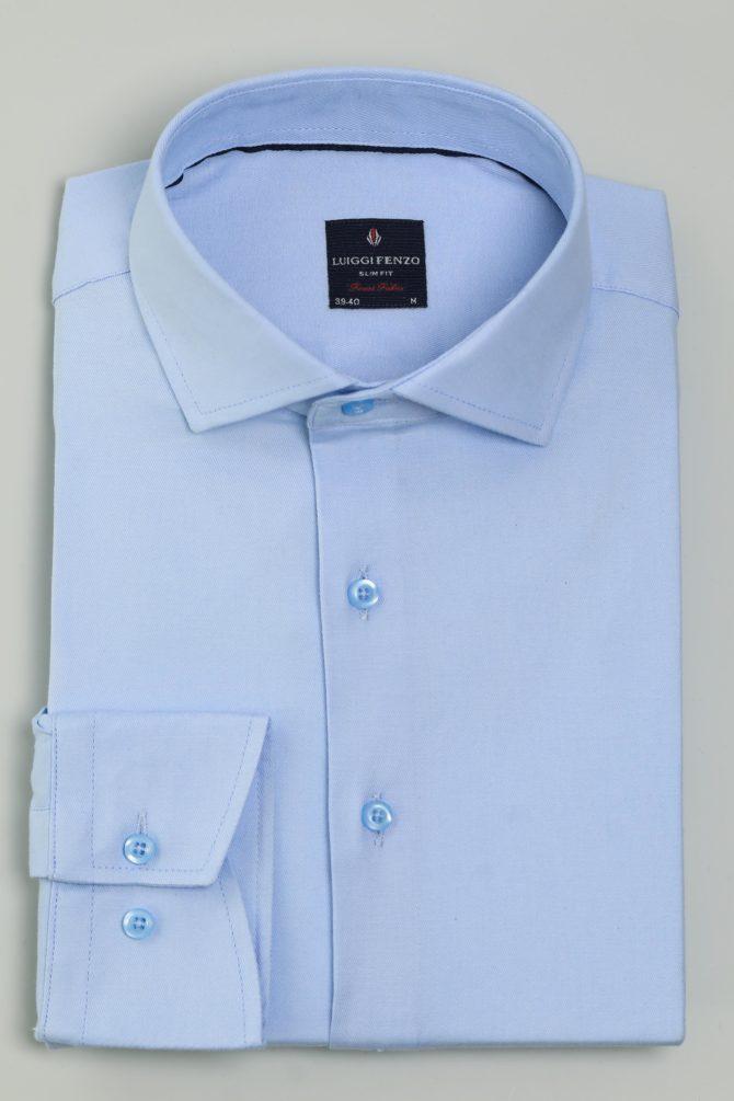 Мужская сорочка с воротником Кент 1-106-7-2011