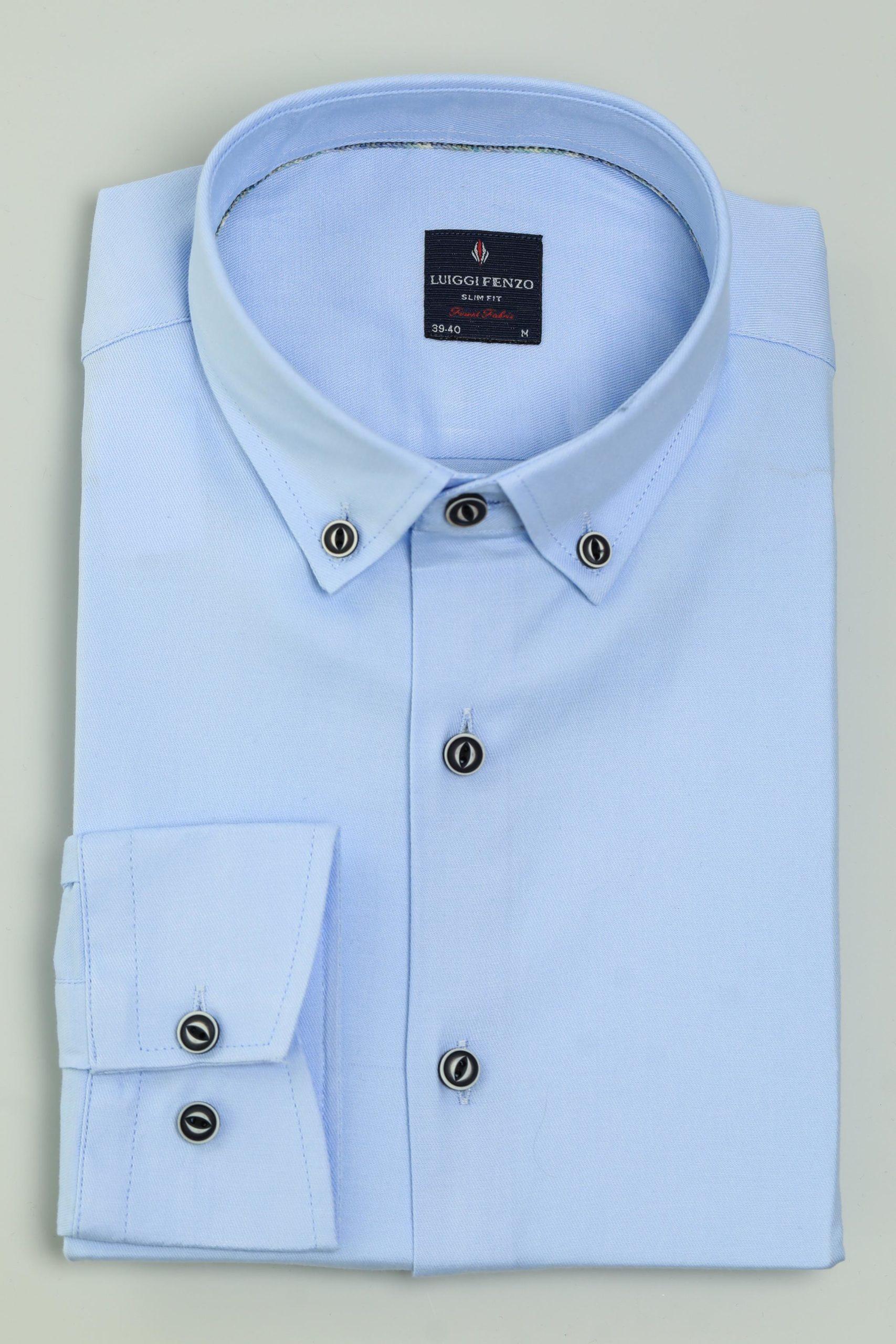 Классическая мужская сорочка 1-106-5-2012